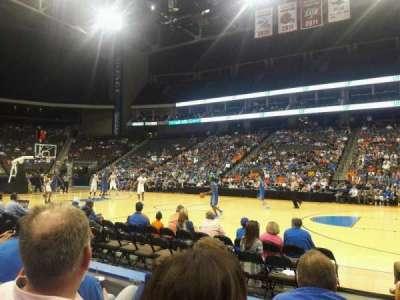 Jacksonville Veterans Memorial Arena, Abschnitt: 102, Reihe: C, Platz: 11