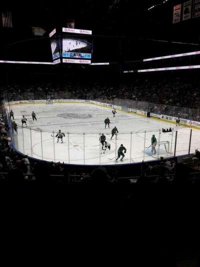 Jacksonville Veterans Memorial Arena, Abschnitt: 121, Reihe: S, Platz: 6