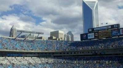 Bank of America Stadium, Abschnitt: 349, Reihe: 13, Platz: 1