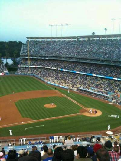 Dodger Stadium, Abschnitt: Reserve, Reihe: O, Platz: 18