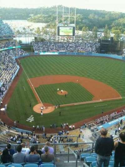 Dodger Stadium, Abschnitt: 6TD, Reihe: J, Platz: 22
