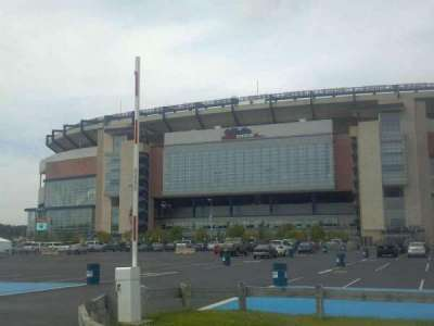 Gillette Stadium Abschnitt Street