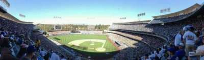 Dodger Stadium, Abschnitt: 7RS, Reihe: F, Platz: 10