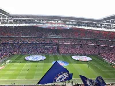 Wembley Stadium, Abschnitt: 501, Reihe: 13, Platz: 30