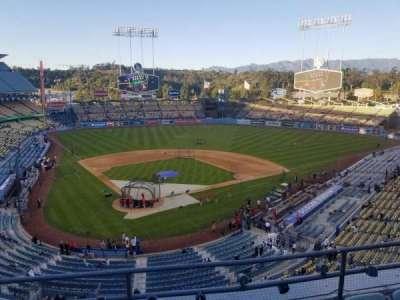 Dodger Stadium, Abschnitt: 4RS, Reihe: D, Platz: 9