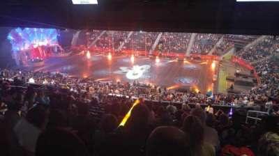 Philips Arena, Abschnitt: 210, Reihe: M, Platz: 5