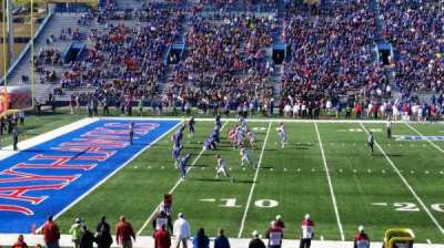 University of Kansas Memorial Stadium, Abschnitt: 23, Reihe: 28, Platz: 28
