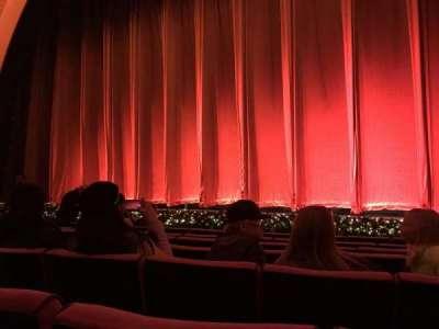 Radio City Music Hall, Abschnitt: Orchestra 3, Reihe: GG, Platz: 301-304
