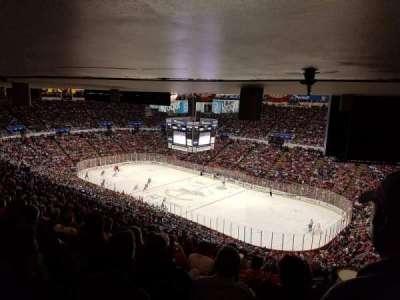 Joe Louis Arena, Abschnitt: 218A, Reihe: 27, Platz: 1