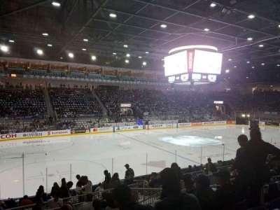 Ricoh Coliseum, Abschnitt: 112, Reihe: h, Platz: 7