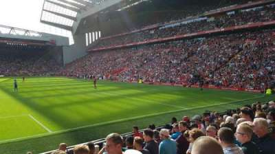 Anfield, Abschnitt: 124, Reihe: 17, Platz: 98