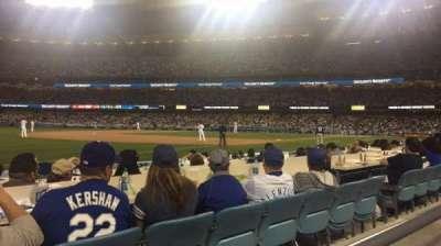 Dodger Stadium, Abschnitt: 37FD, Reihe: A, Platz: 8