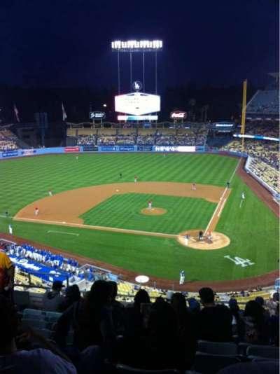 Dodger Stadium, Abschnitt: 7RS, Reihe: K, Platz: 15