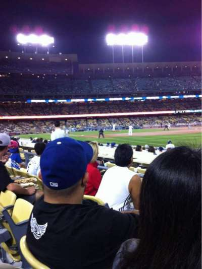 Dodger Stadium, Abschnitt: 42FD, Reihe: C, Platz: 3