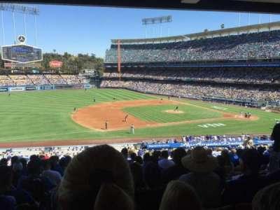 Dodger Stadium, Abschnitt: 139LG, Reihe: S, Platz: 7