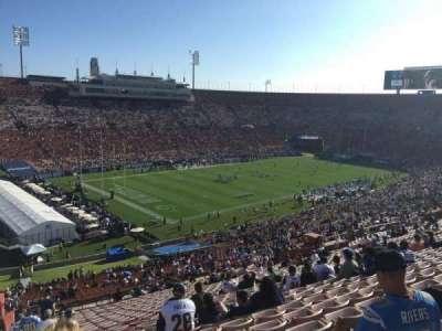 Los Angeles Memorial Coliseum, Abschnitt: 27H, Reihe: 71, Platz: 103