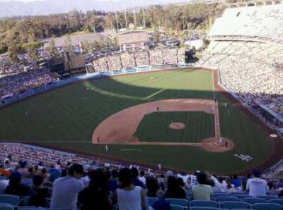 Dodger Stadium, Abschnitt: 11TD, Reihe: K, Platz: 8