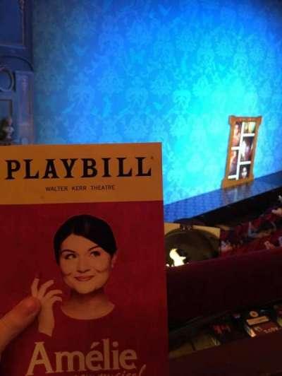 Walter Kerr Theatre, Abschnitt: Mezz Left, Reihe: A, Platz: 23