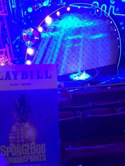 Palace Theatre (Broadway), Abschnitt: Left Mezz, Reihe: C, Platz: 11