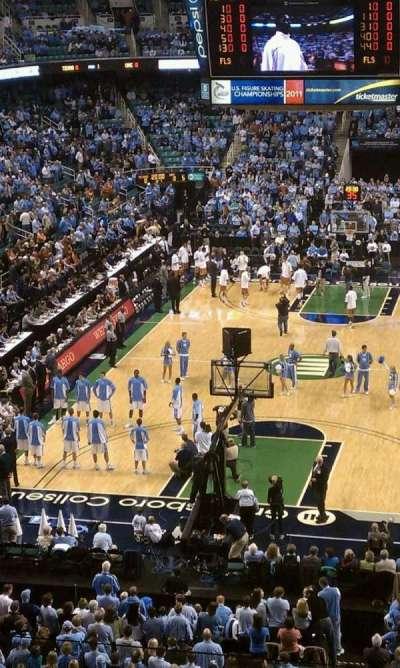 Greensboro Coliseum, Abschnitt: 201