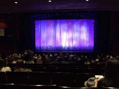 Marquis Theatre, Abschnitt: Orchestra, Reihe: U, Platz: 115