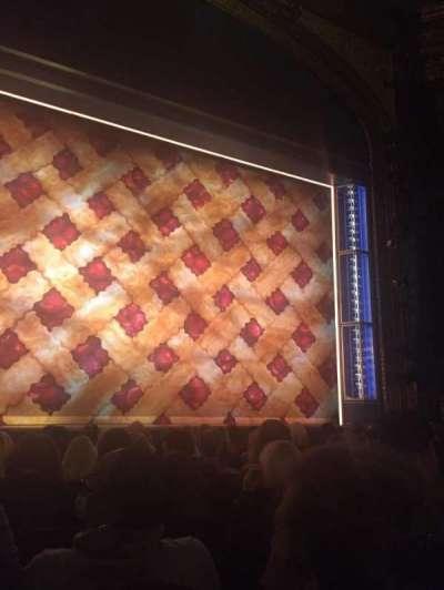Brooks Atkinson Theatre, Abschnitt: Orchestra, Reihe: G, Platz: 103