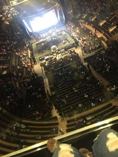 Madison Square Garden, Abschnitt: 320, Reihe: 1, Platz: 17
