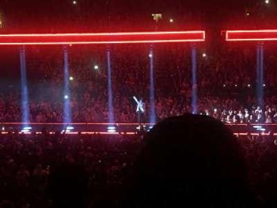 Bridgestone Arena, Abschnitt: 114, Reihe: H, Platz: 4