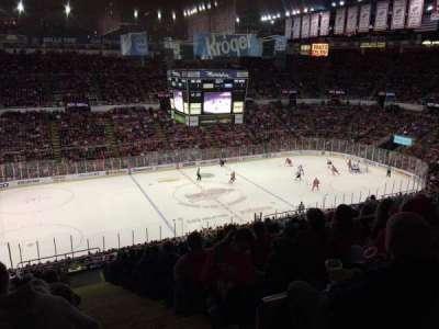 Joe Louis Arena, Abschnitt: 224, Reihe: 18, Platz: 1