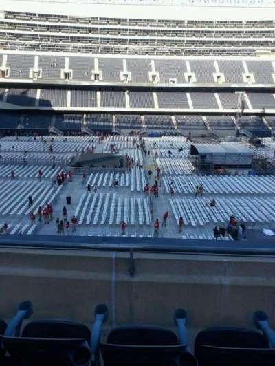 Soldier Field, Abschnitt: 339, Reihe: 3