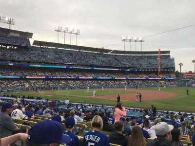 Dodger Stadium, Abschnitt: 32FD, Reihe: O, Platz: 6