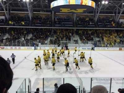 Yost Ice Arena, Abschnitt: 4, Reihe: 12, Platz: 10