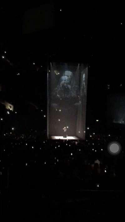 Staples Center, Abschnitt: 105, Reihe: 19, Platz: 2