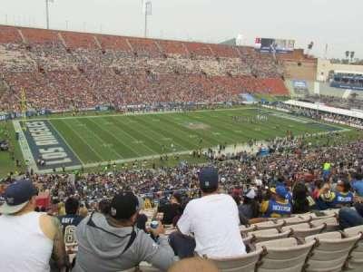 Los Angeles Memorial Coliseum, Abschnitt: 10H, Reihe: 70, Platz: 103