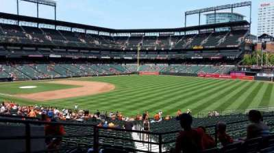 Oriole Park at Camden Yards, Abschnitt: 9