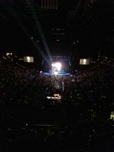 Jacksonville Veterans Memorial Arena, Abschnitt: 312, Reihe: F, Platz: 5