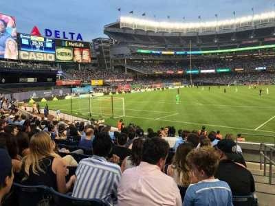 Yankee Stadium, Abschnitt: 133, Reihe: 10, Platz: 1