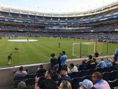 Yankee Stadium, Abschnitt: 136, Reihe: 7, Platz: 24