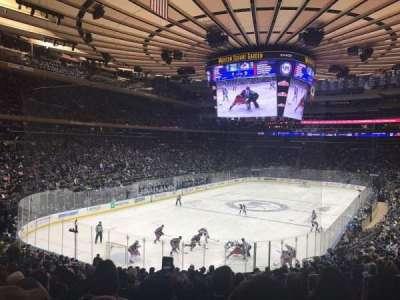 Madison Square Garden, Abschnitt: 113, Reihe: 21, Platz: 19