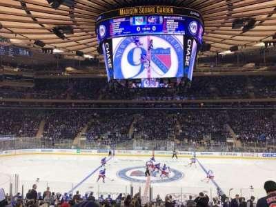 Madison Square Garden, Abschnitt: 107, Reihe: 18, Platz: 10