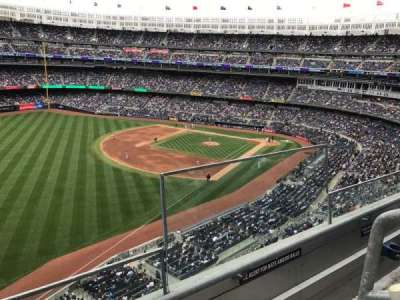Yankee Stadium, Abschnitt: 331, Reihe: 2, Platz: 1