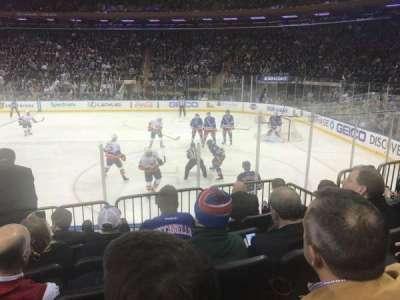 Madison Square Garden, Abschnitt: 109, Reihe: 7, Platz: 5