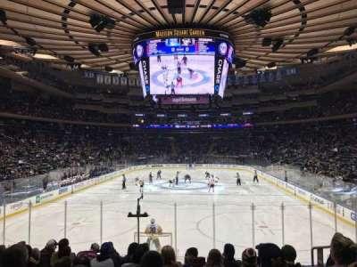 Madison Square Garden, Abschnitt: 112, Reihe: 12, Platz: 15
