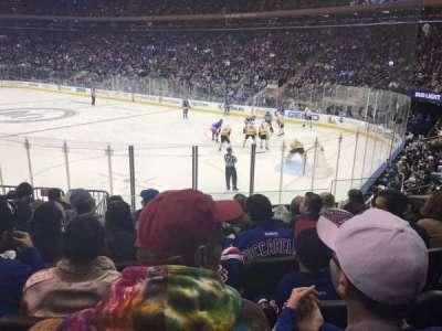 Madison Square Garden, Abschnitt: 110, Reihe: 11, Platz: 13
