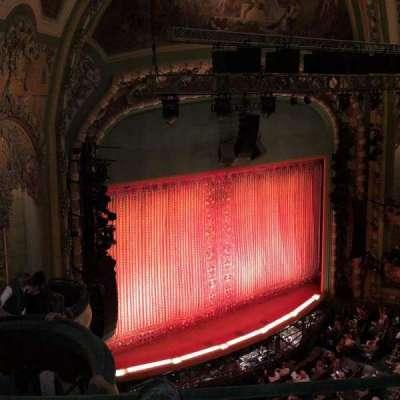 New Amsterdam Theatre, Abschnitt: Balcony, Reihe: C, Platz: 31