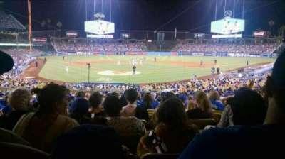 Dodger Stadium, Abschnitt: 4FD, Reihe: W, Platz: 6