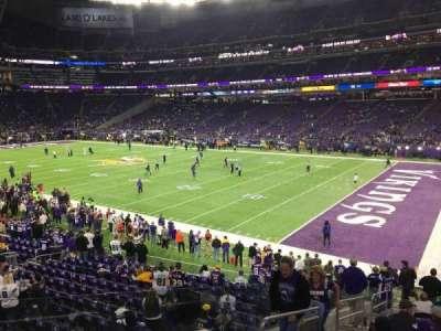 U.S. Bank Stadium, Abschnitt: 124, Reihe: 19, Platz: 30