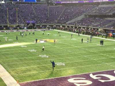 U.S. Bank Stadium, Abschnitt: 143, Reihe: 22, Platz: 21