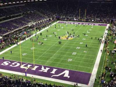 U.S. Bank Stadium, Abschnitt: 324, Reihe: C, Platz: 3