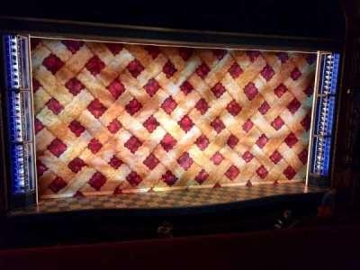 Brooks Atkinson Theatre, Abschnitt: MEZZ, Reihe: A, Platz: 101